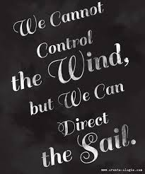 control the sail