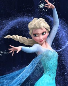 elsa frozen let it go