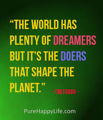 dreamers and doers